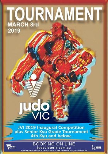 Inaugural Competition - Judo Victoria Incorporated